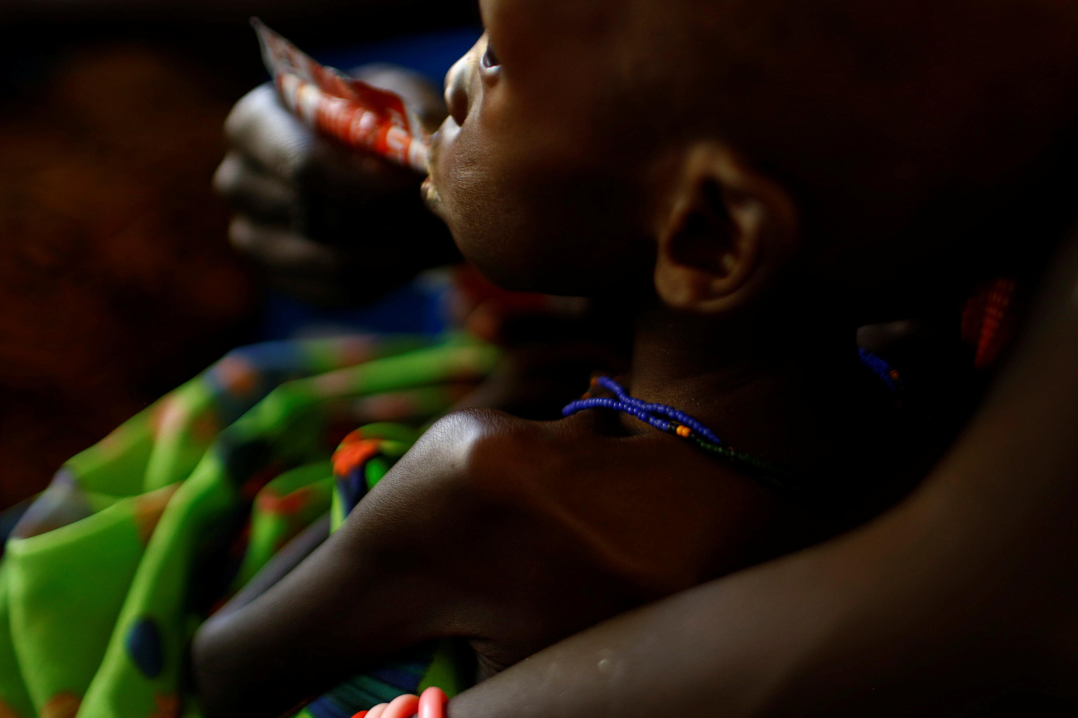 Almost 1.4 million children face 'imminent death' from starvation
