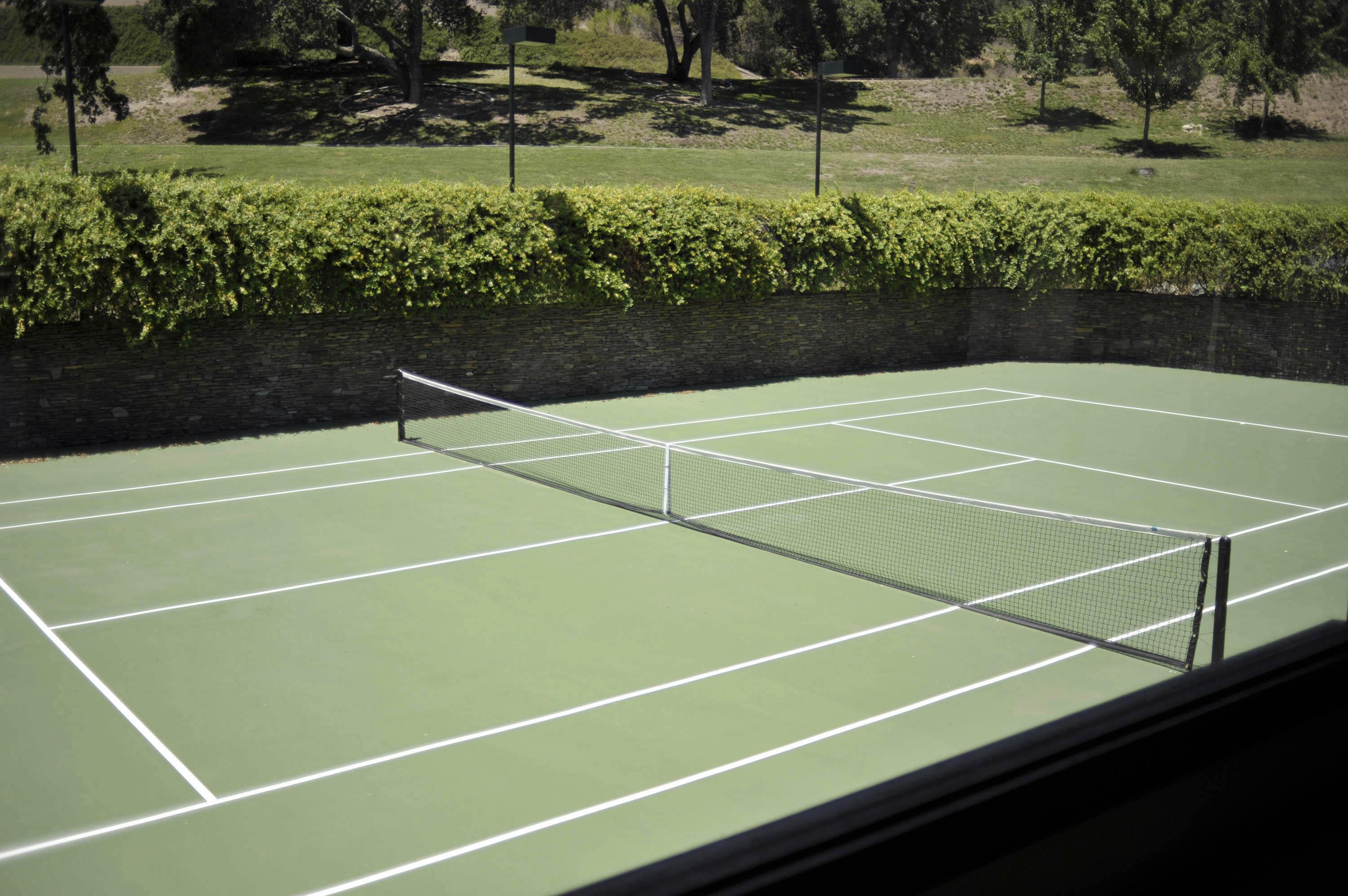 Neverland Ranch Tennis Court