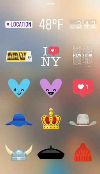 Instagram Update With Geostickers, Geofilters