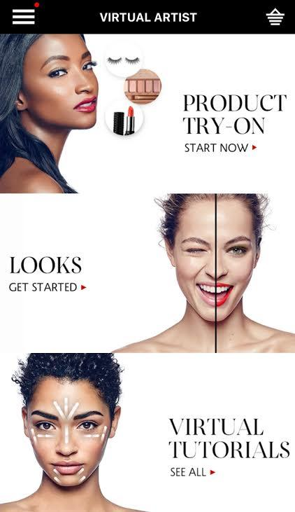 sephora app update lets users virtually try on makeup