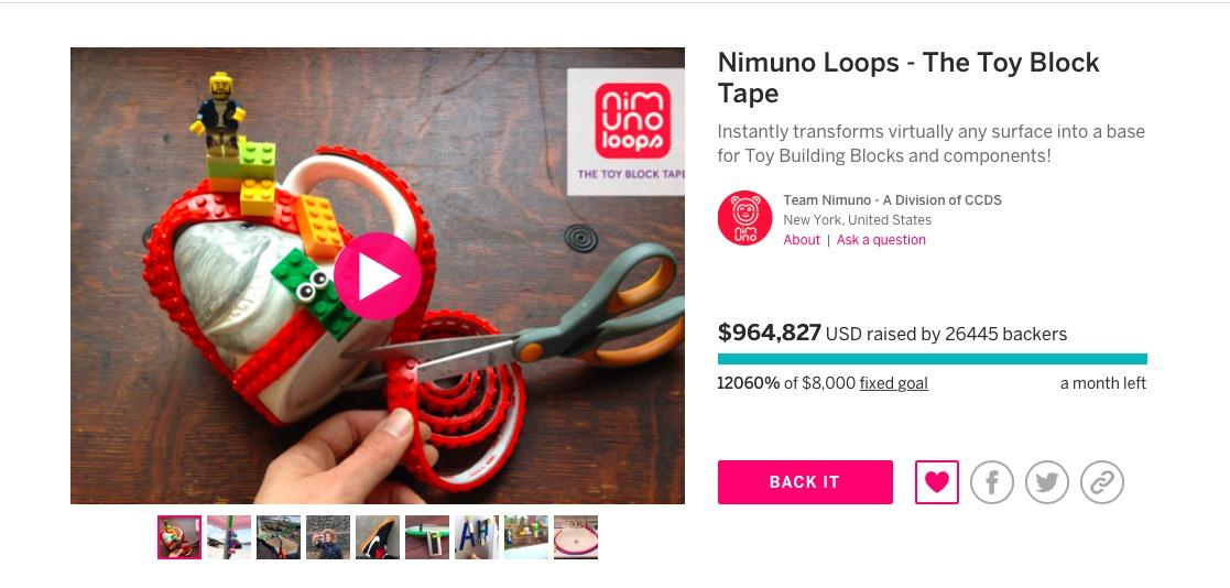Nimuno Lego Tape Where To Buy The Incredible New Creation That