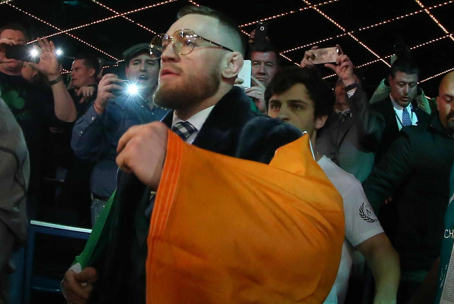 UFC star McGregor's fine for Vegas pre-bout fracas reduced