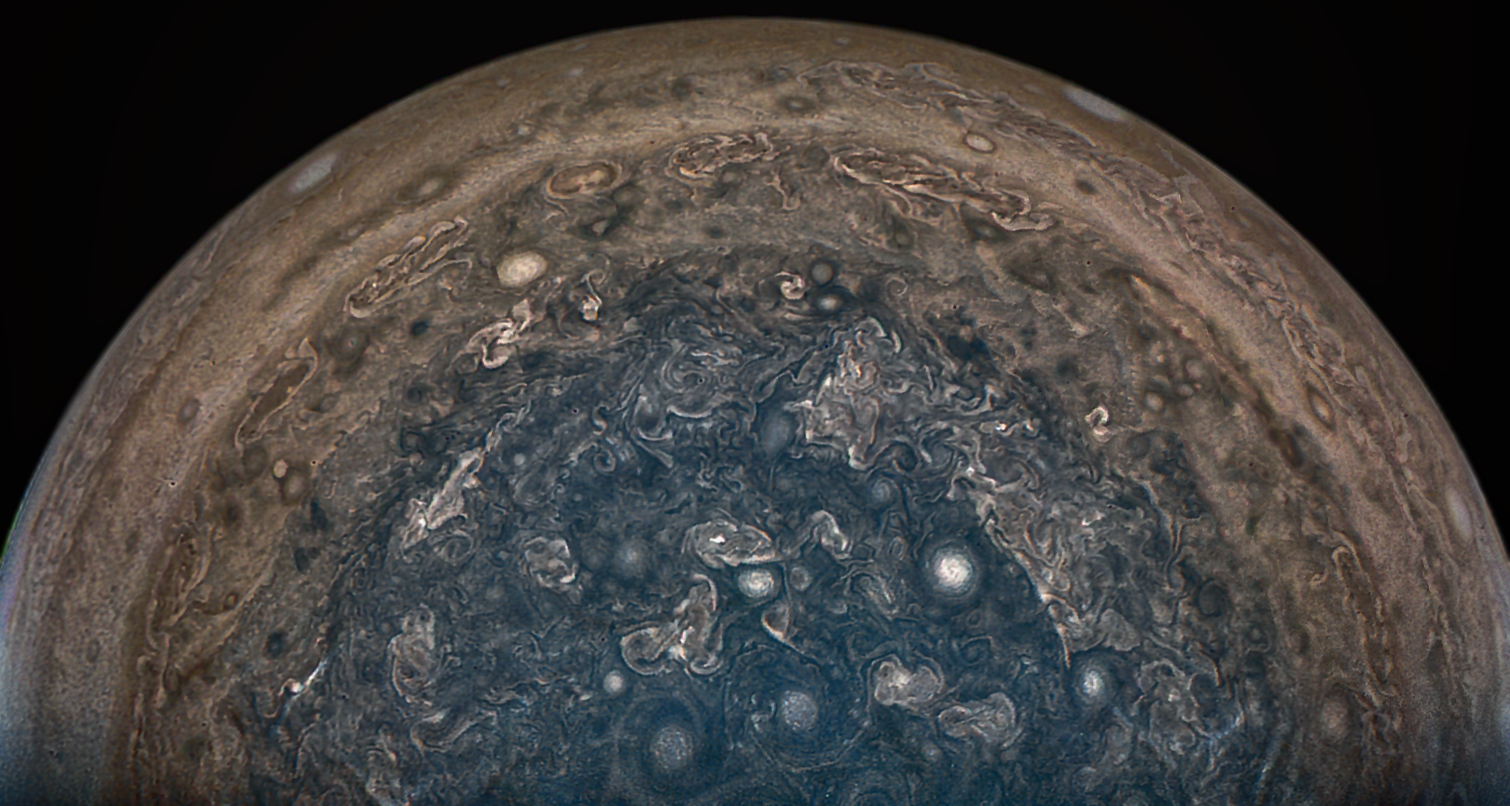 Stunning images of Jupiter from NASA Juno mission