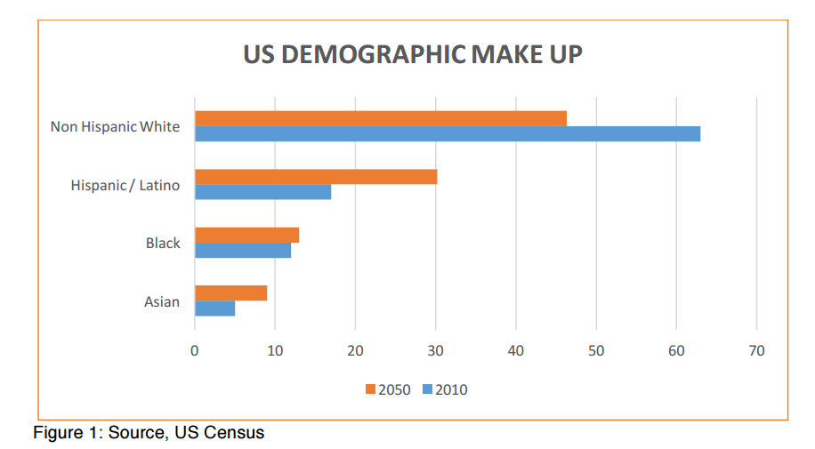 US Demographic composition