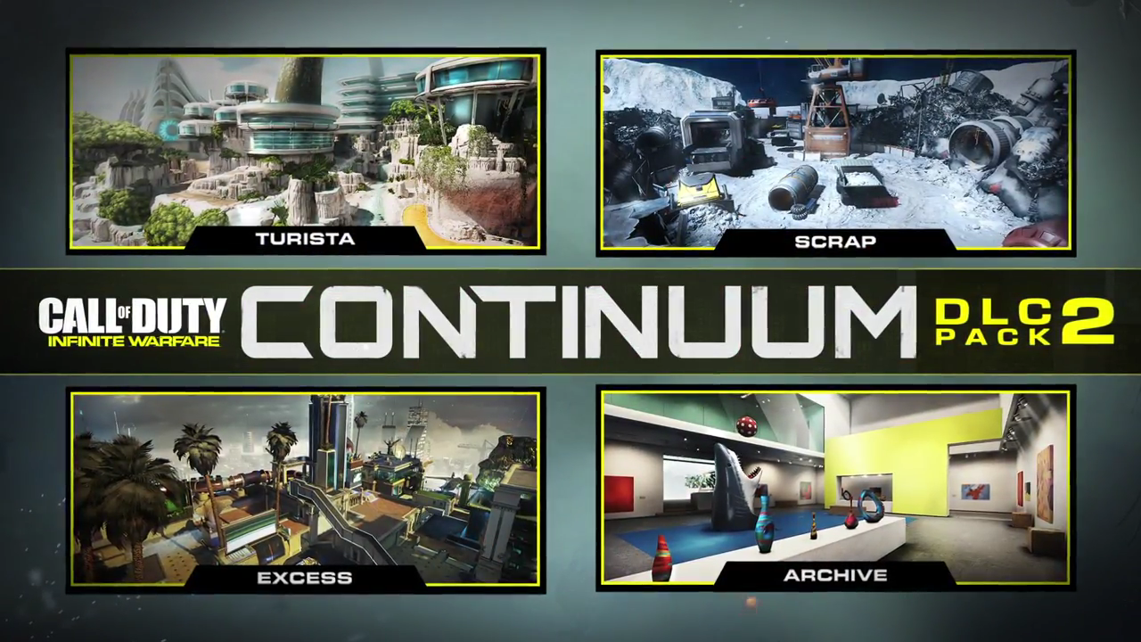 Infinite Warfare Continuum DLC Detailed