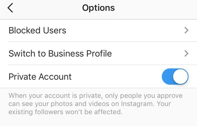 i can t unblock someone on instagram