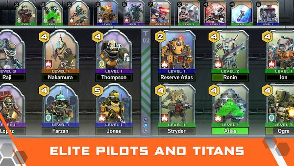 Pilots and Titans