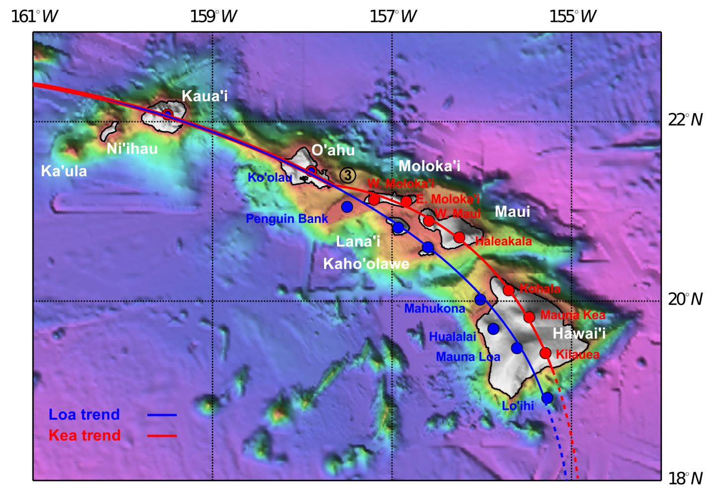 Active Volcanoes In Hawaii Map World's Biggest, Most Active Volcanoes In Hawaii Formed 3 Million