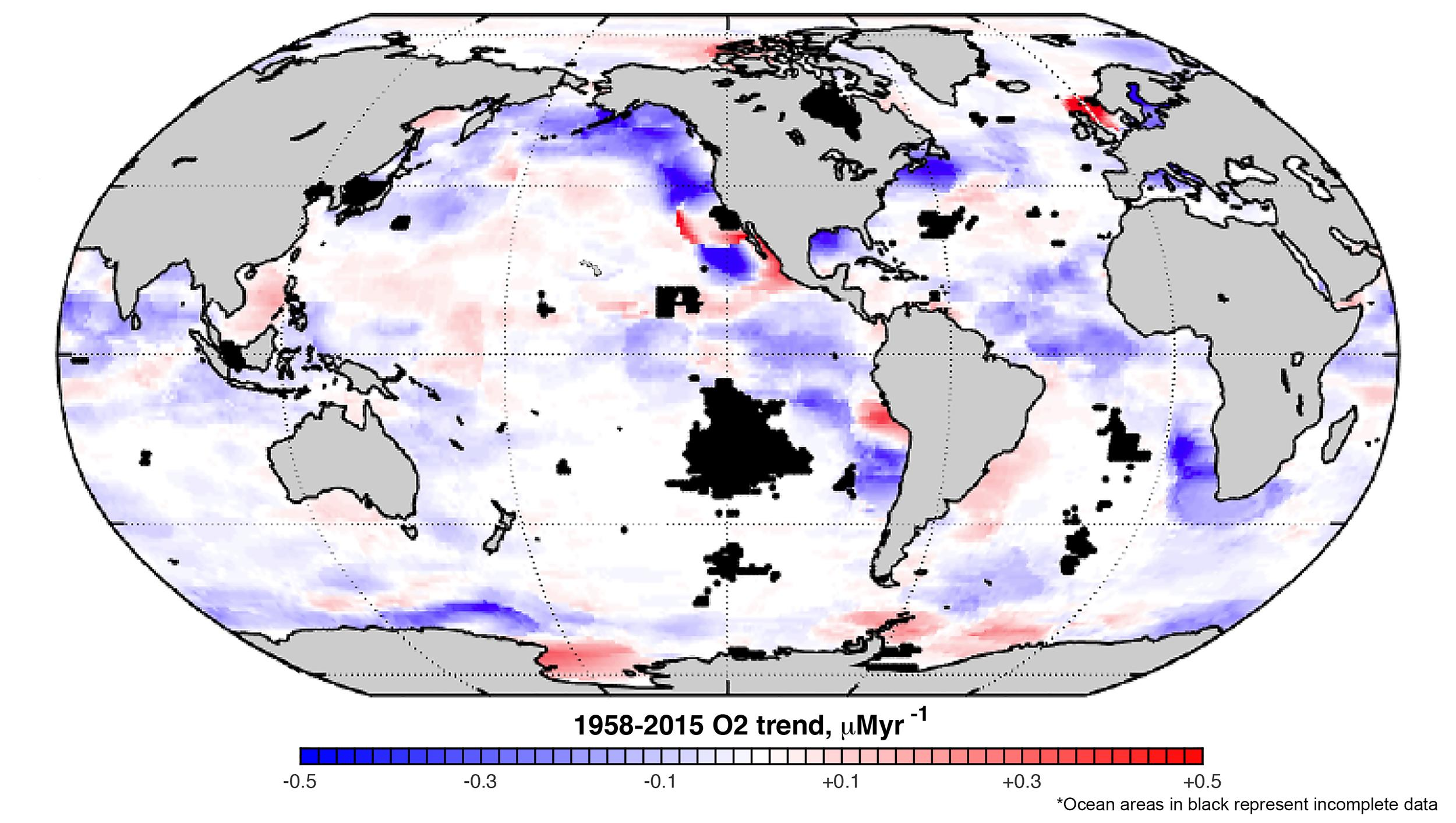 Climate Change Is Causing The Dissolved Oxygen In World's Oceans To Plummet
