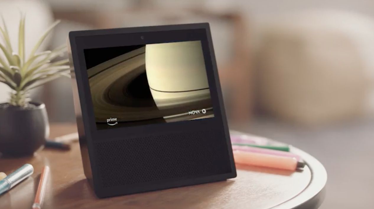 The Amazon Echo Show is the first Echo with a built-in display