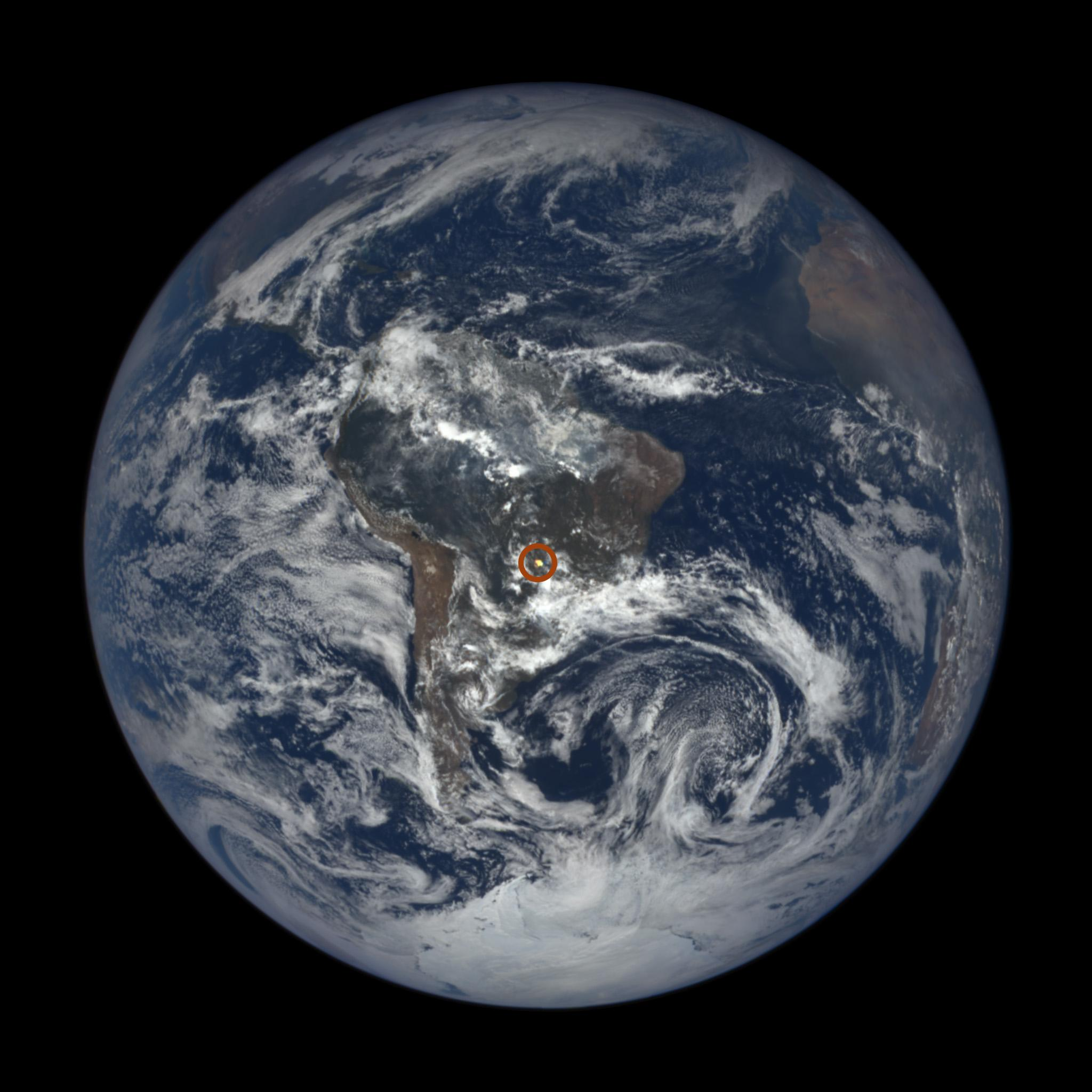 NASA's Van Allen Probes discover human made Barrier around the Earth