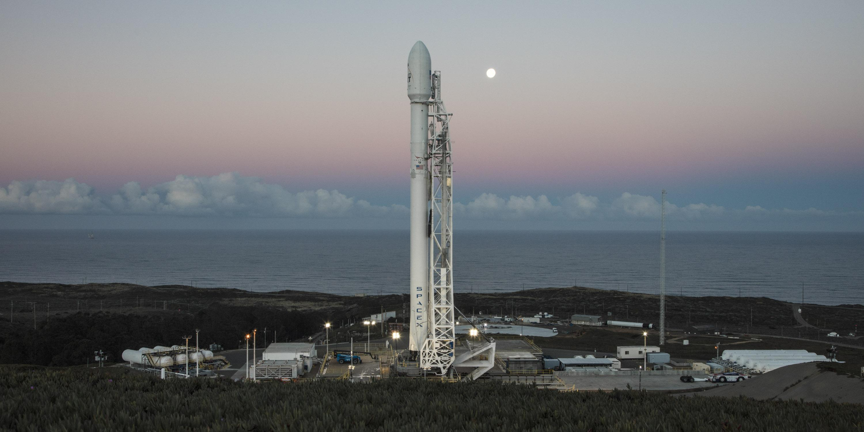 SpaceX 10 Iridium