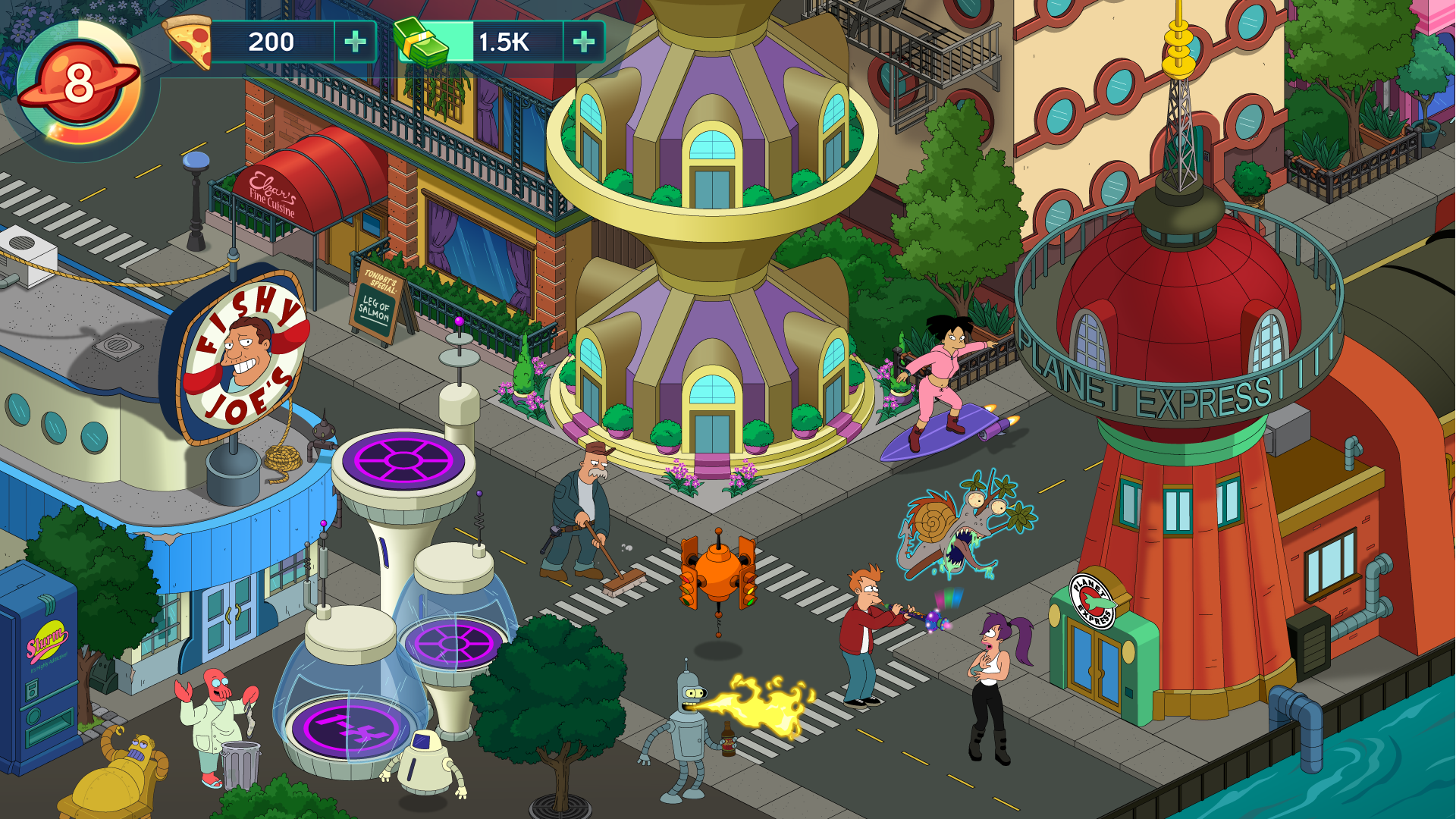Trailer shows upcoming Futurama mobile game 'containing new episodes'