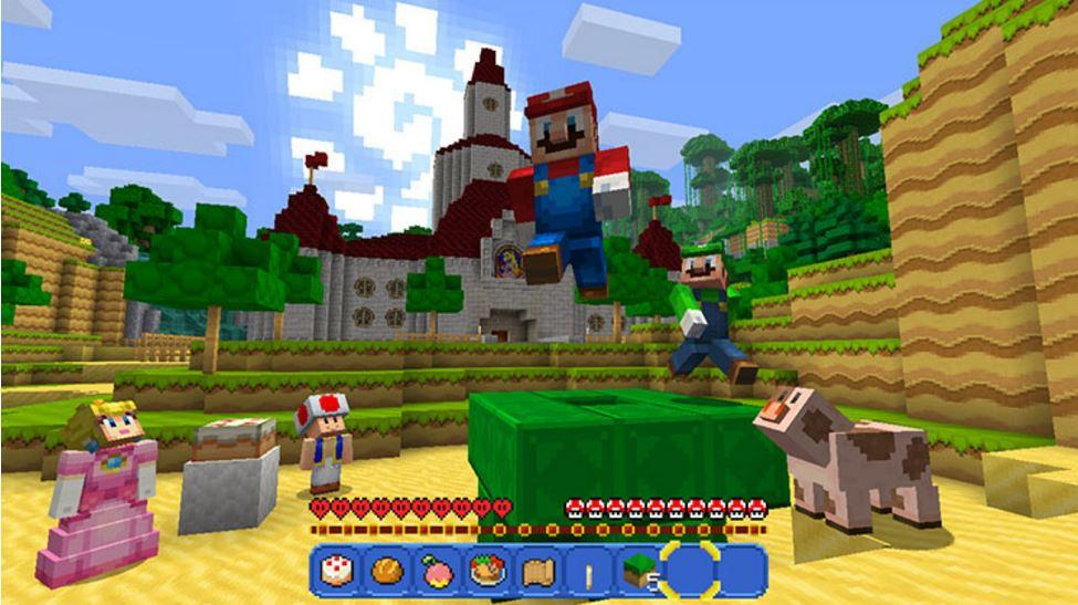 Minecraft's Steve is the Newest Smash Bros. Fighter