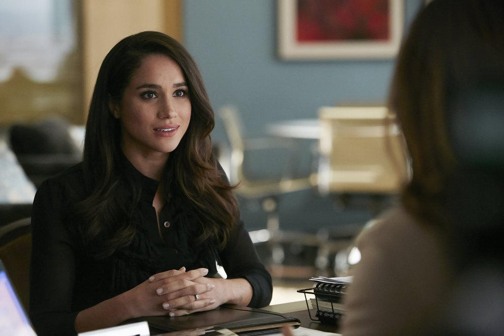 Special security measures for Meghan Markle on 'Suits' set