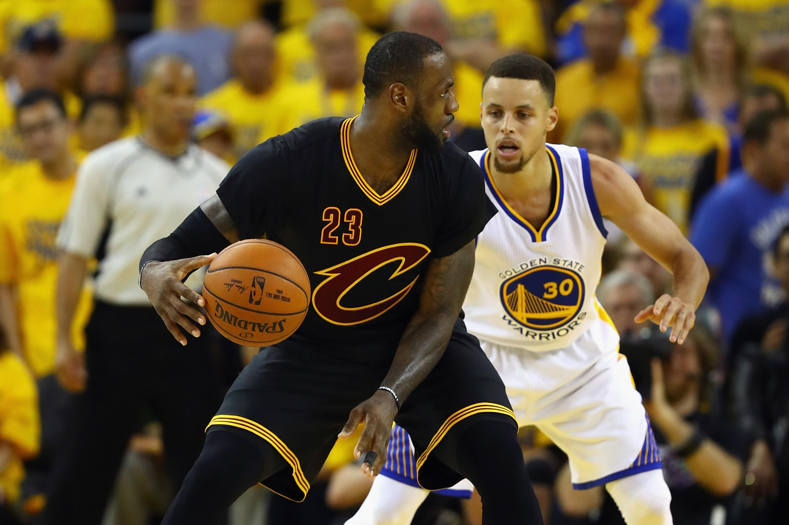Cavaliers playing Warriors in NBA Finals again sets record