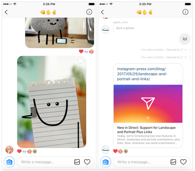 Instagram Direct Now Supports Links With Latest Update