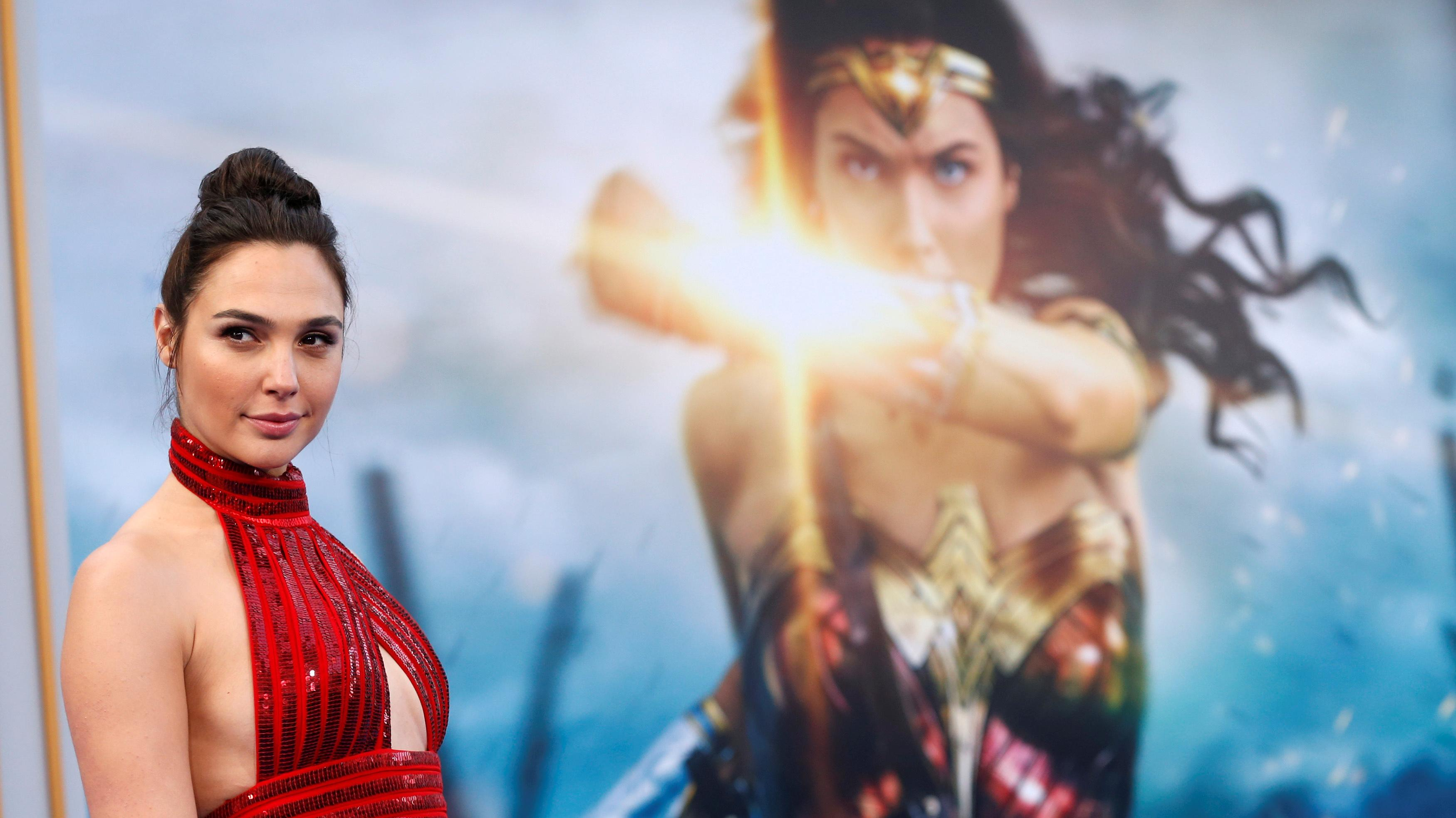 Remember when Keri Russell was Wonder Woman?