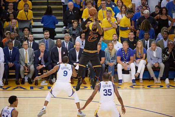 LeBron says superteams like Warriors are 'great' for National Basketball Association