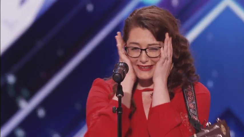 America's Got Talent: Deaf singer Mandy Harvey blows judges away