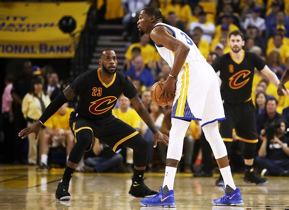 LeBron James Not Tired from Guarding Kevin Durant