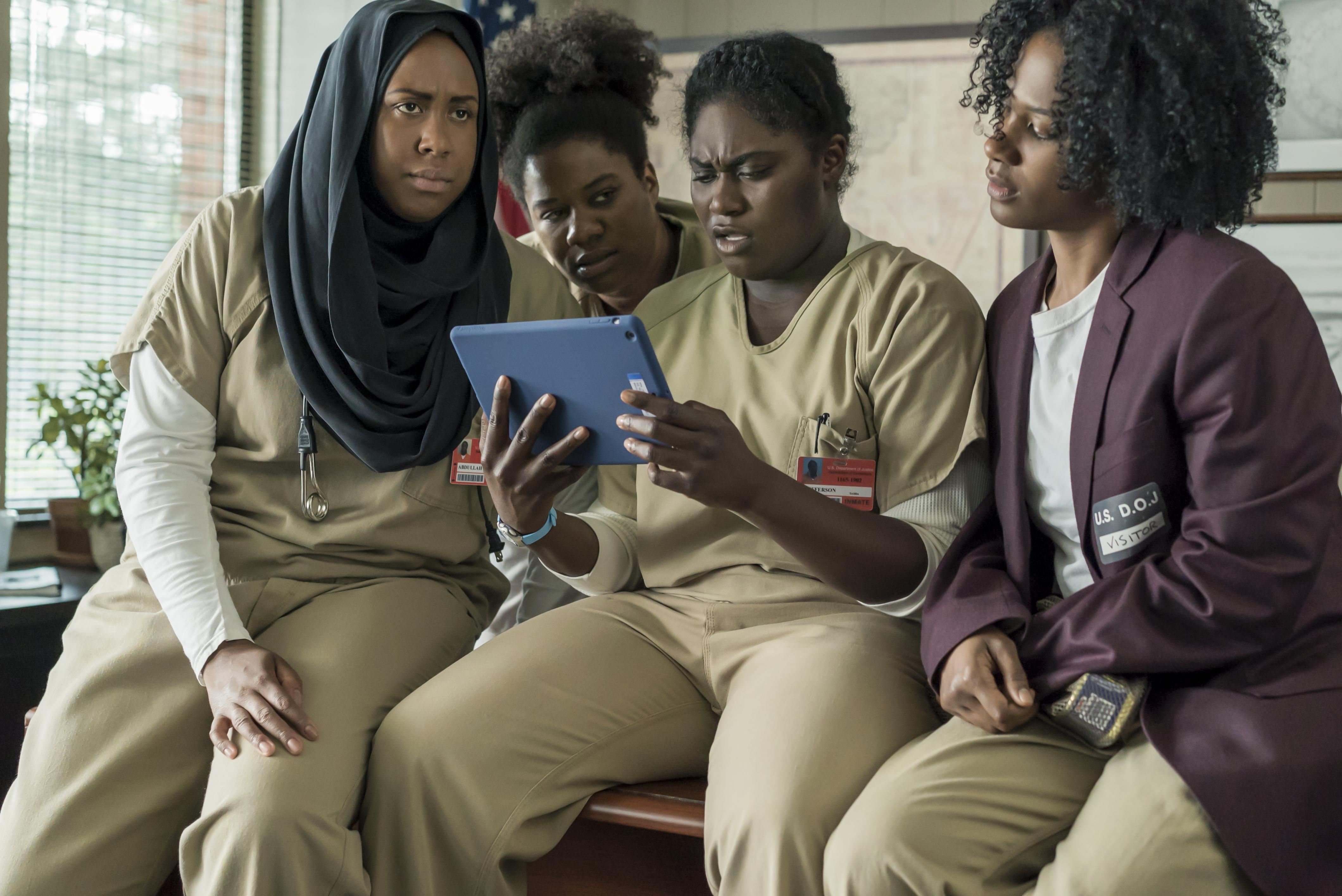 Image result for black crew oitnb season 5