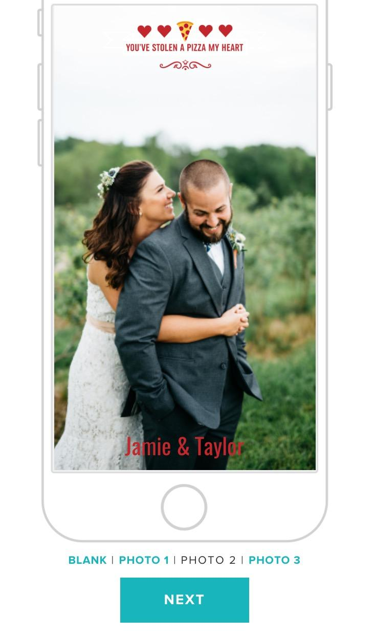 weddingwire snapchat