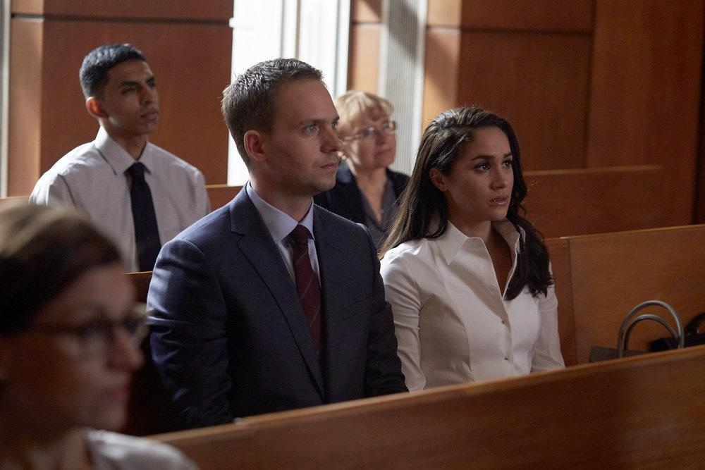 Suits Mike and Rachel