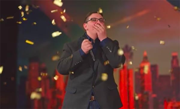 Formerly Blind Christian Guardino Gets Third Golden Buzzer On 'America's Got Talent'