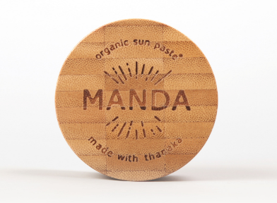 manda sunscreen paste