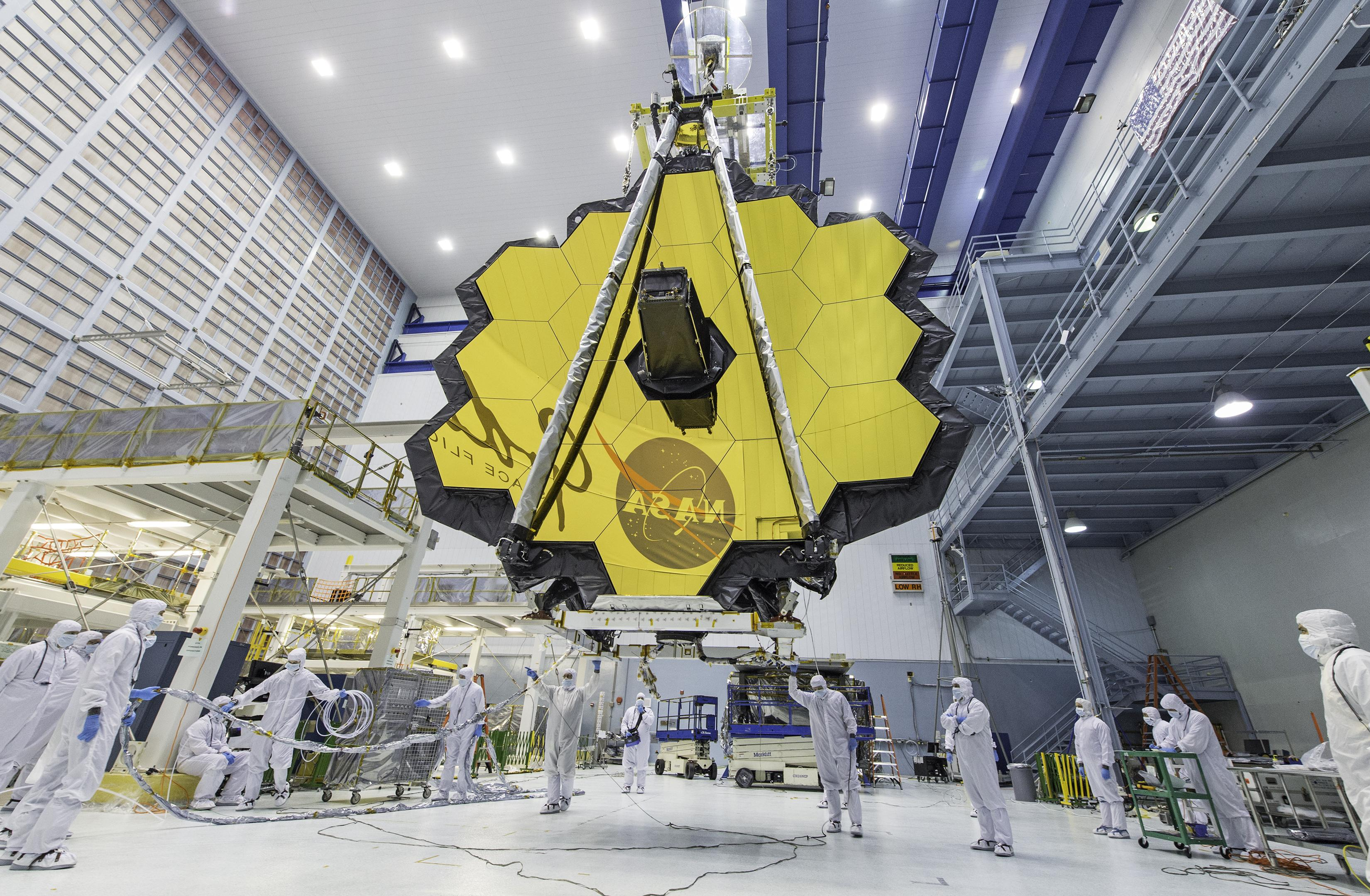 NASA Says James Webb Space Telescope Science Targets Include Icy Moons, Galaxy Clusters, Distant Worlds