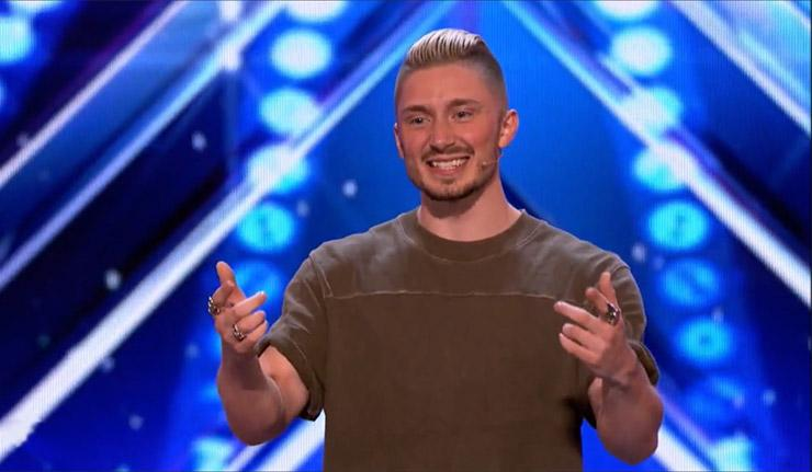 America's Got Talent's latest Golden Buzzer act are Britain's Got Talent veterans