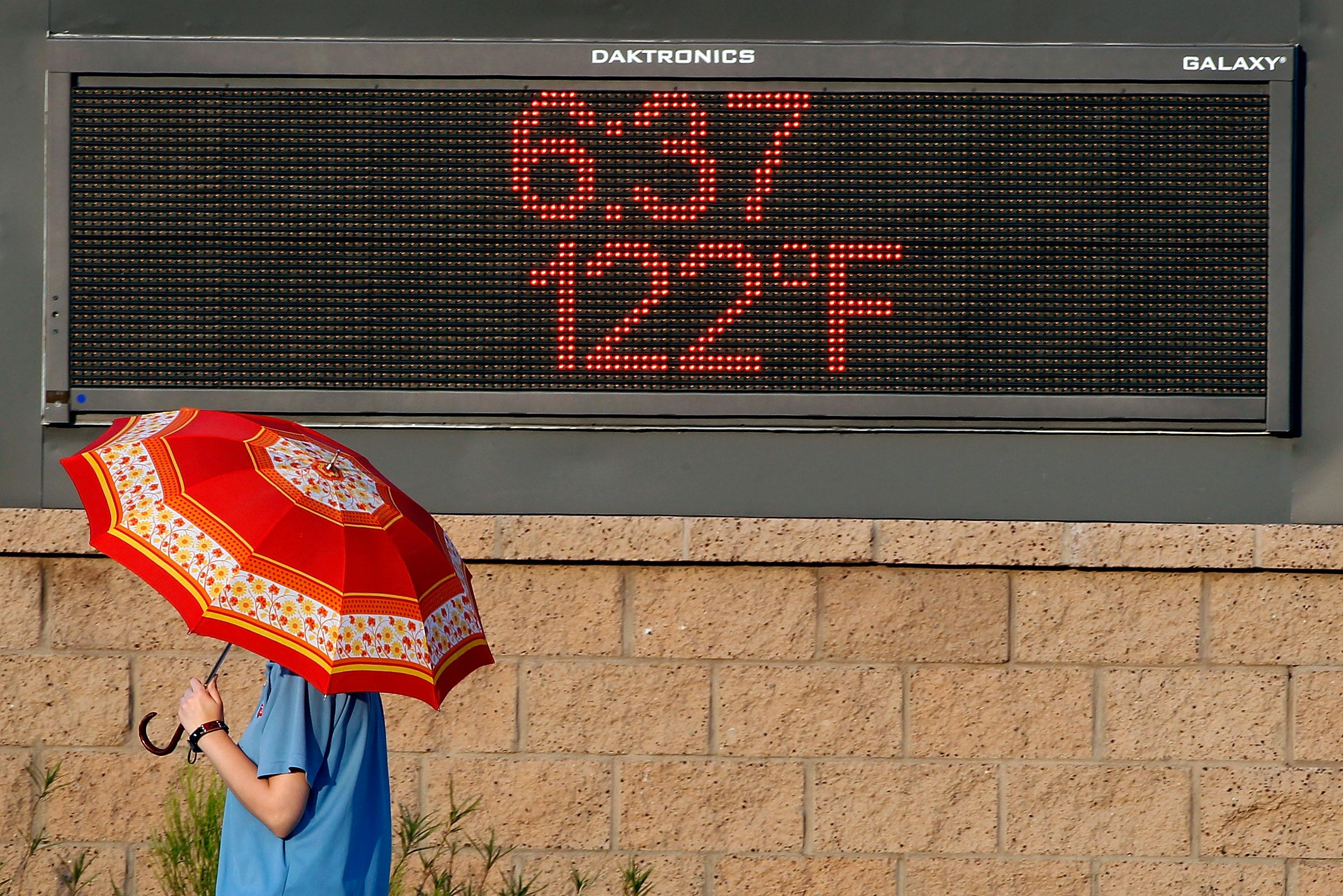 U.S.  southwest swelters in one of its hottest summers