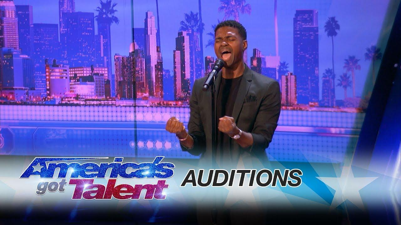 Johnny Manuel Flawlessly Sings Whitney Houston on 'America's Got Talent'