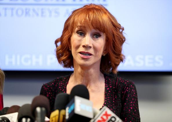 Kathy Griffin Questioned By Secret Service About Trump 'Beheading' Photo
