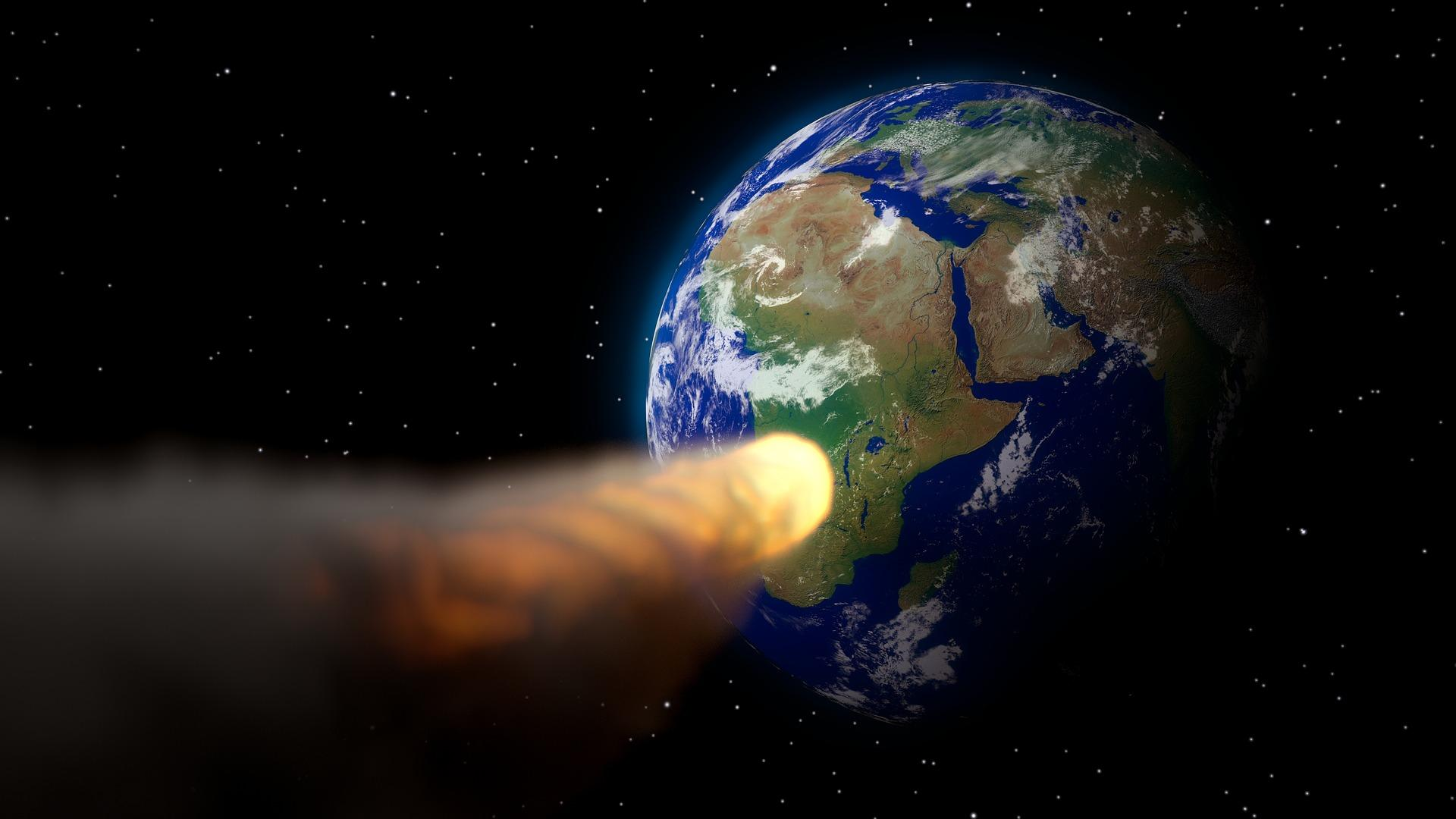 Asteroid Heading for Earth in NASA Tabletop Exercise