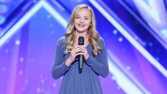 Singer-songwriter earns DJ Khaled's golden buzzer on America's Got Talent