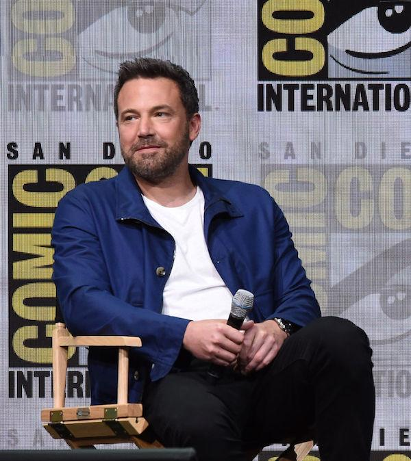 Ben Affleck Joins Lindsay Shookus at LA Comedy Show