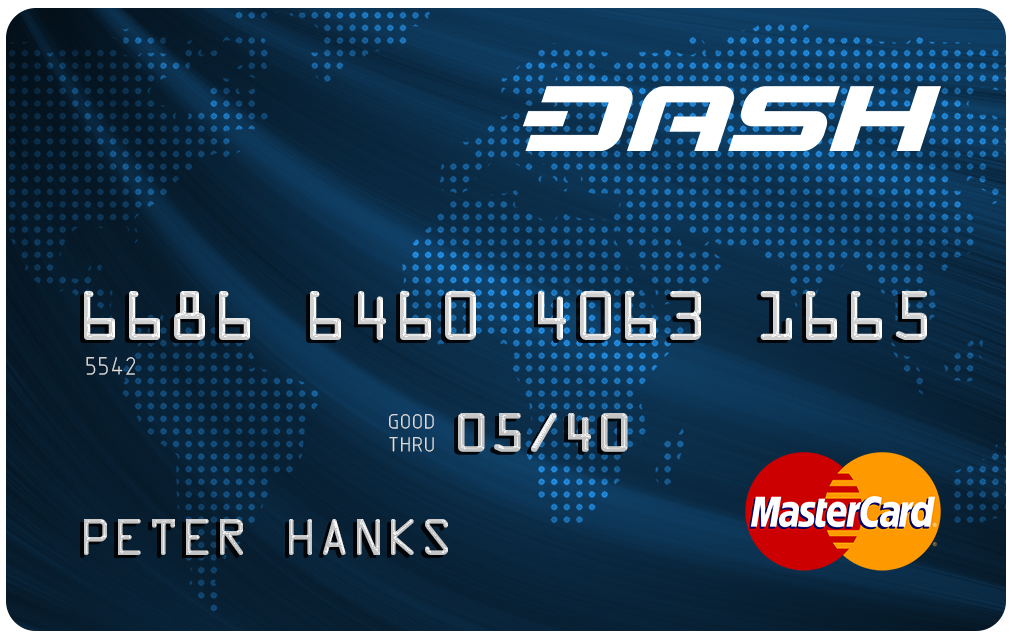 Dash Debit Card