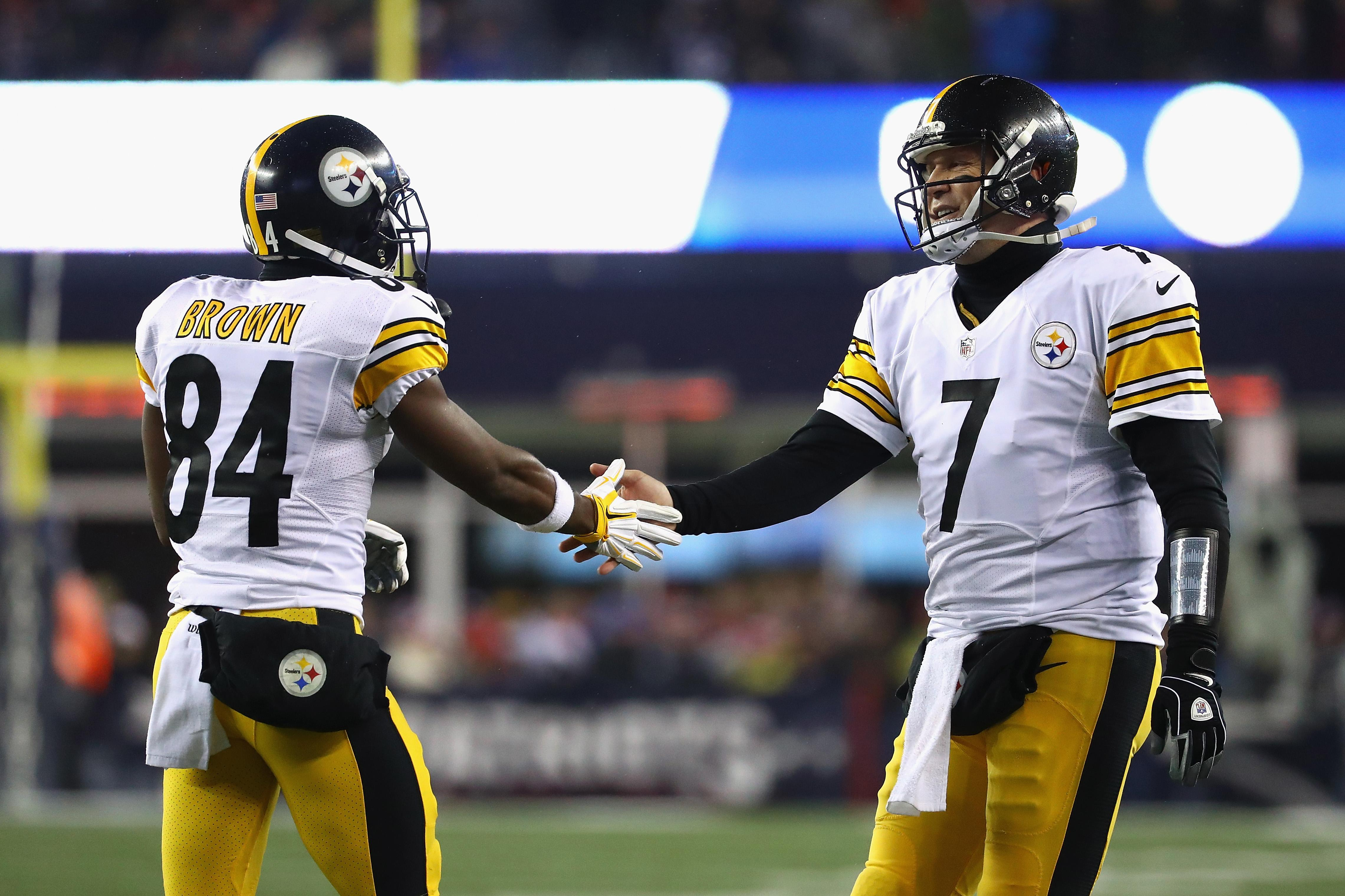 Ben Roethlisberger Antonio Brown