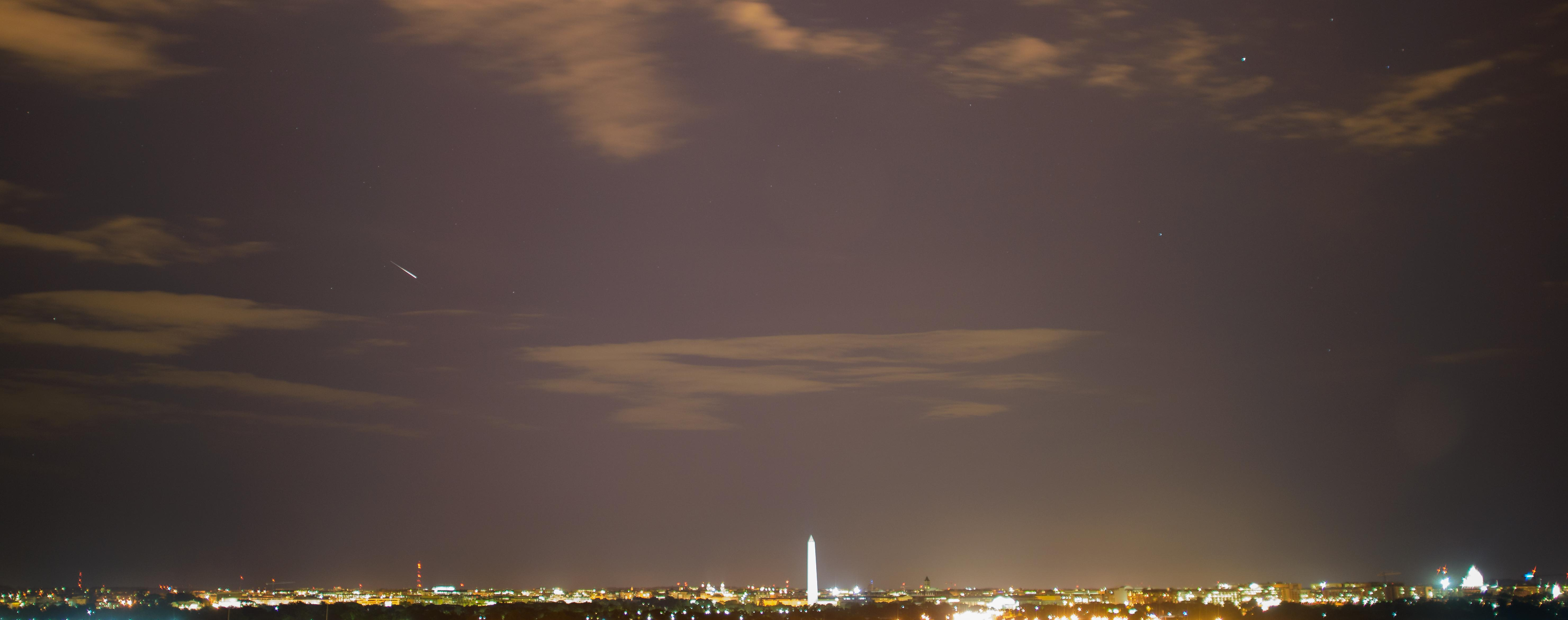 meteor over dc