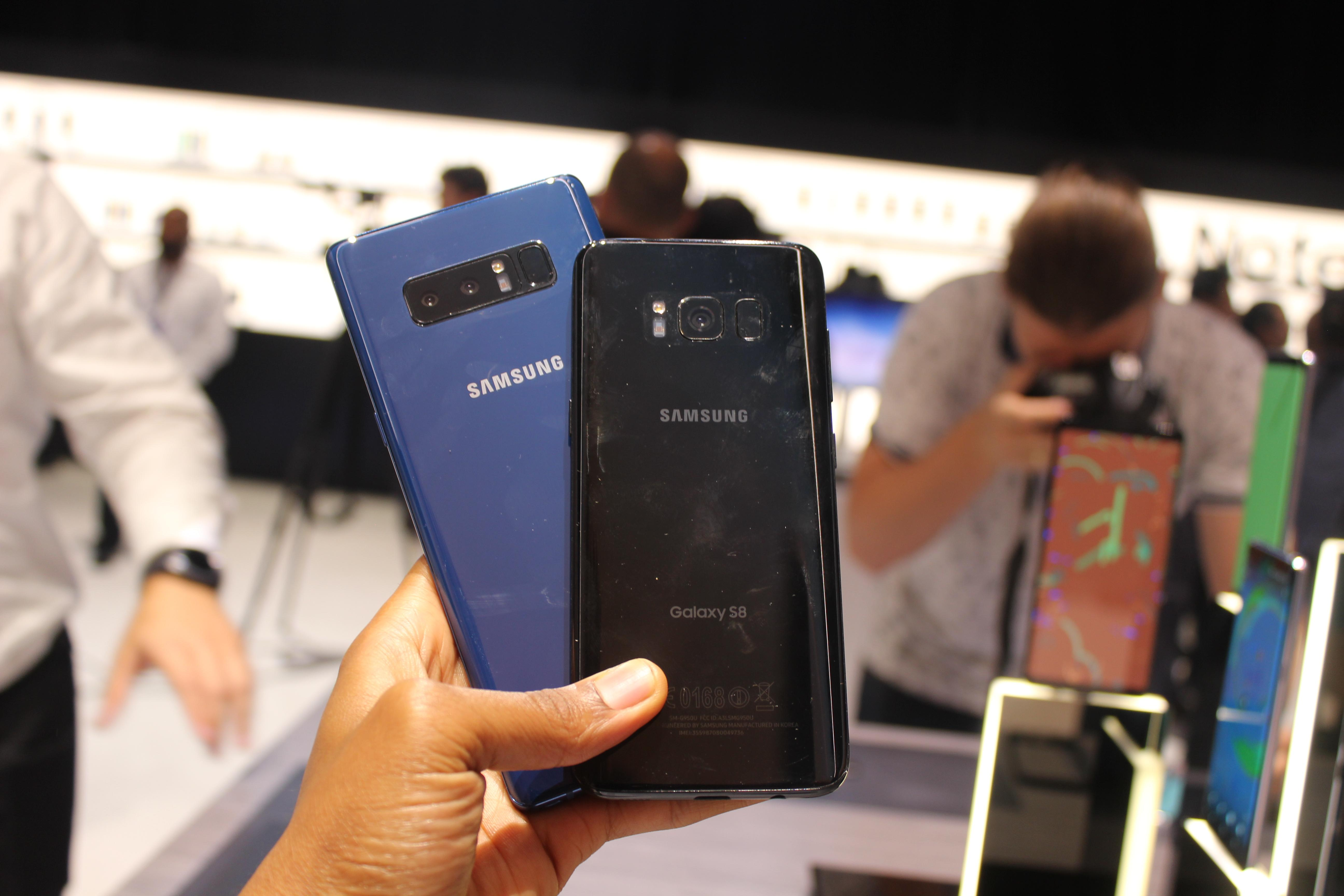 Samsung Galaxy Note 8 Review: A Benchmark For The Hefty And