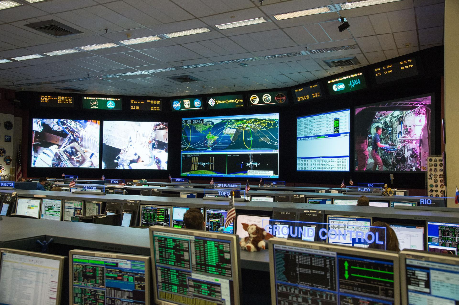 johnson space center mission control
