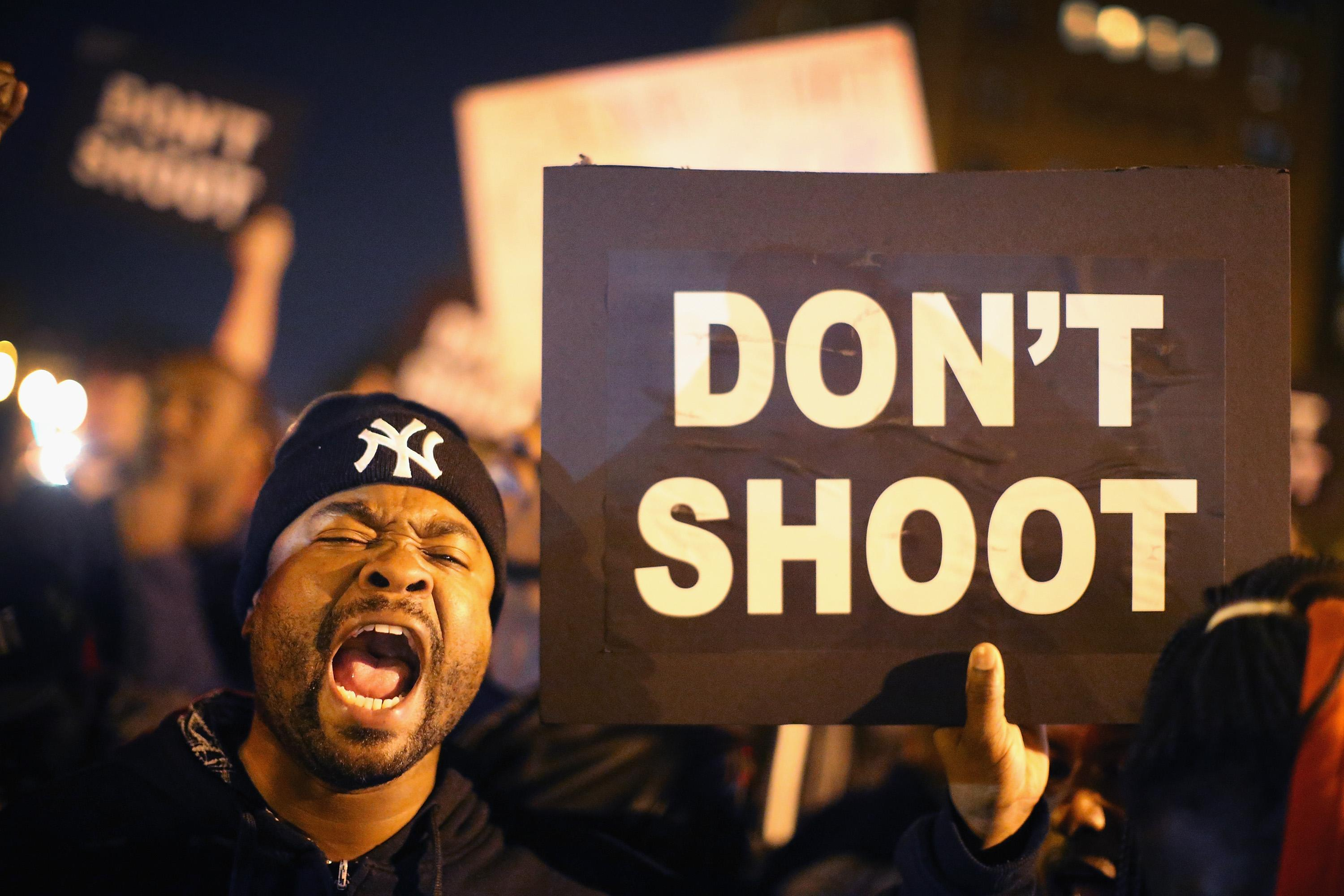 Police officer: 'We only kill black people'