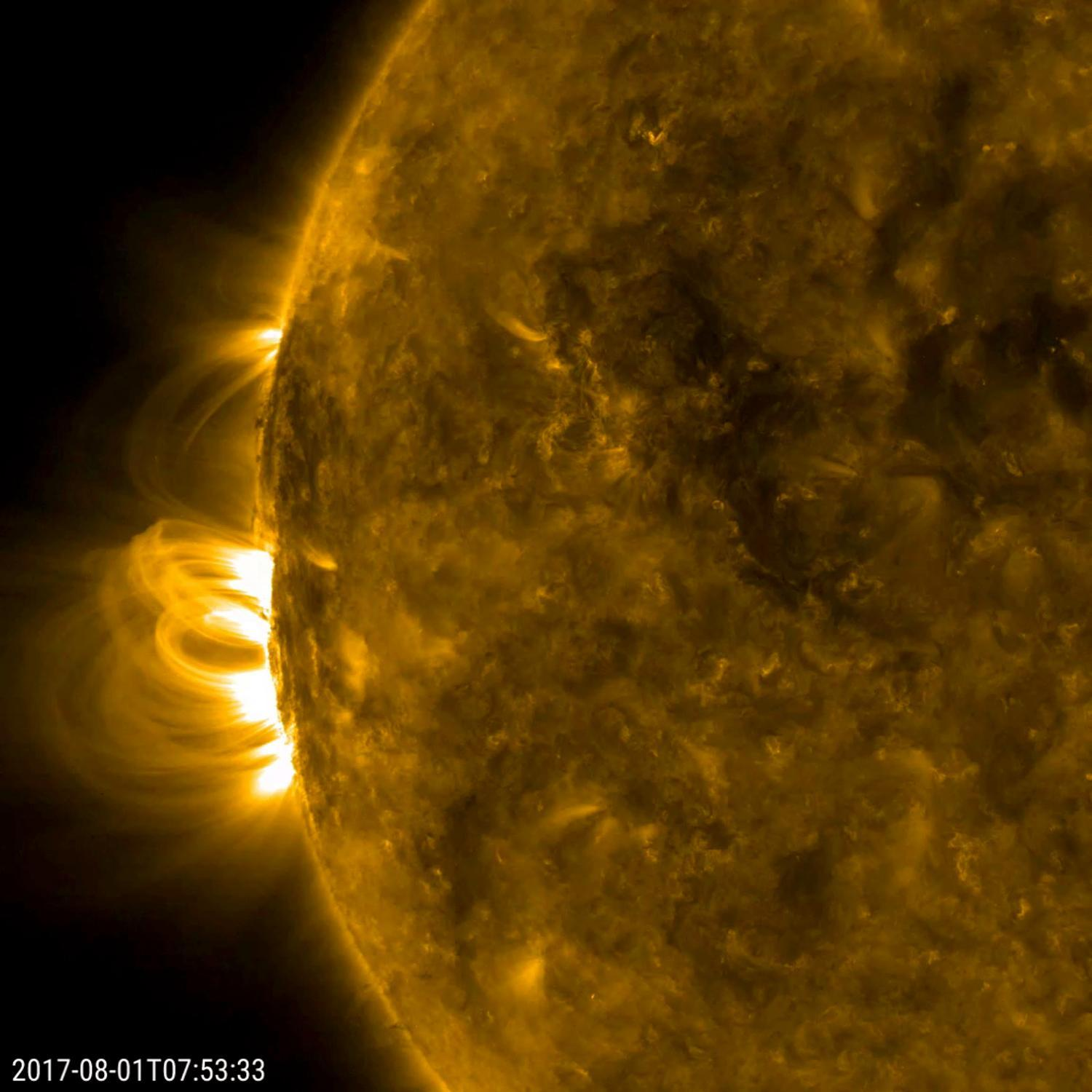 sun surface coronal mass ejection