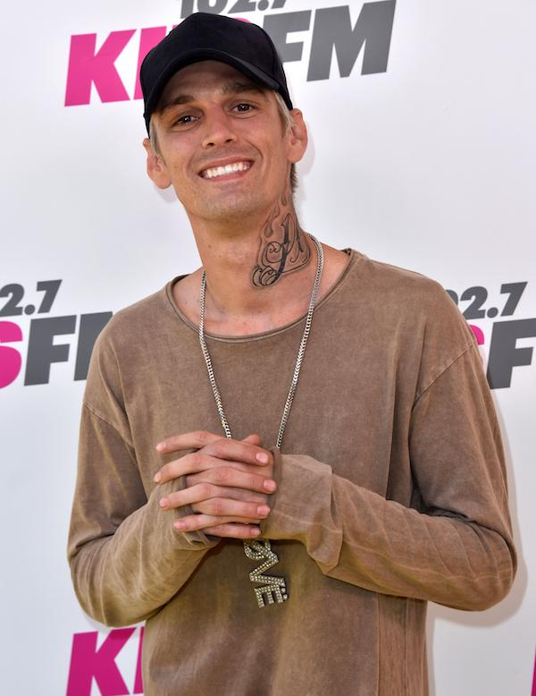 Police called to Aaron Carter's home