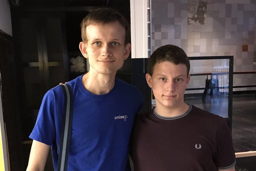 Vitalik Buterin and Israeli teen Ben Kaufman
