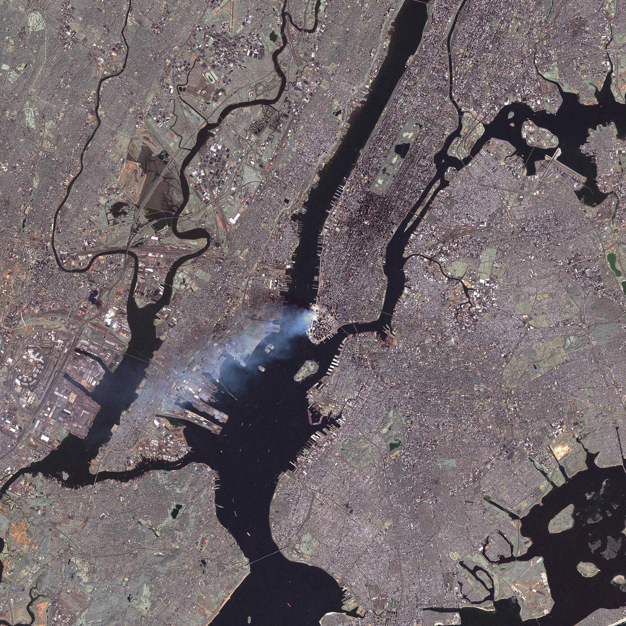 NYC911 From Landsat7