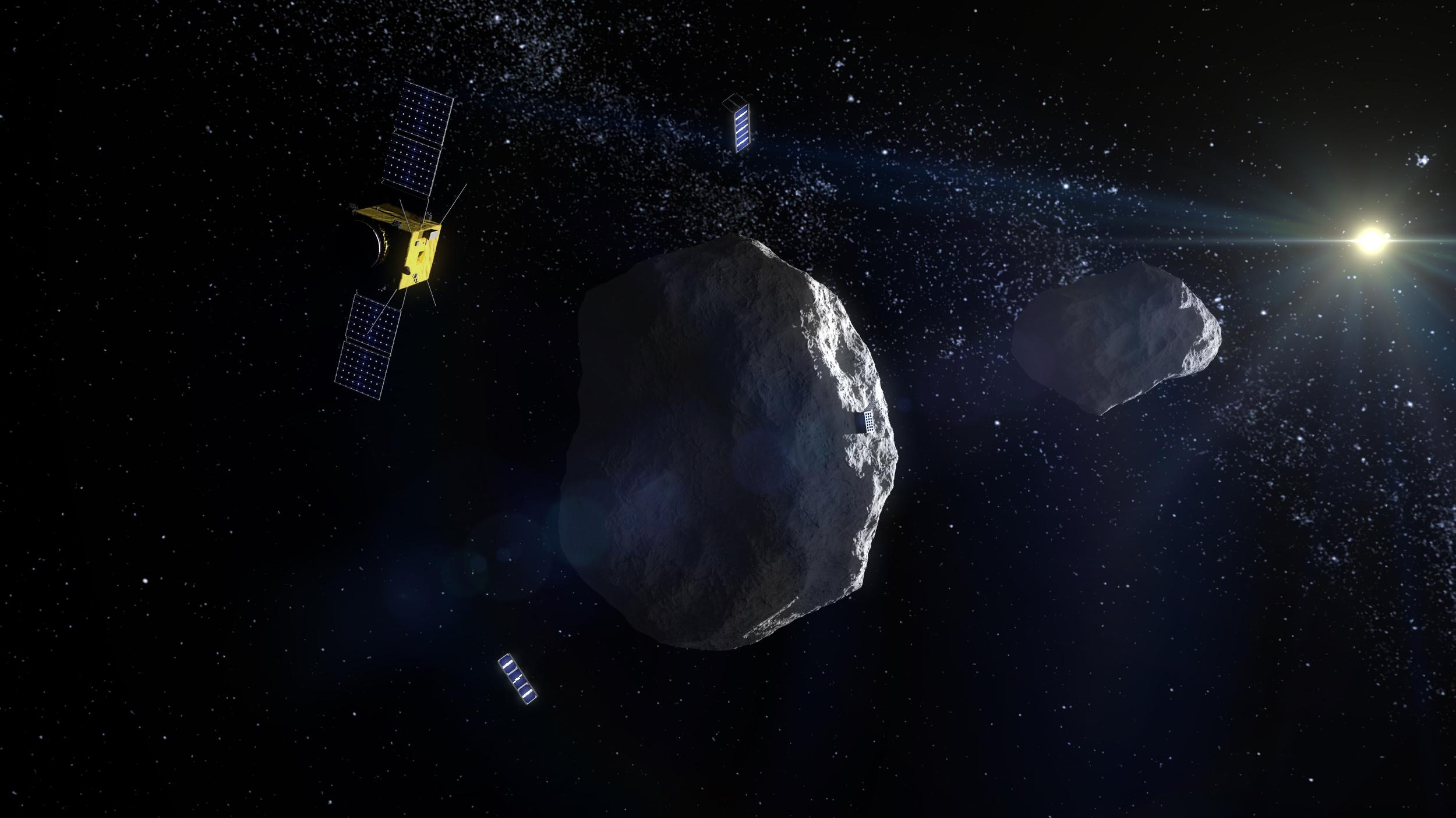 Scientists and Engineers from United States and Europe Grouping Up to Deflect Asteroids
