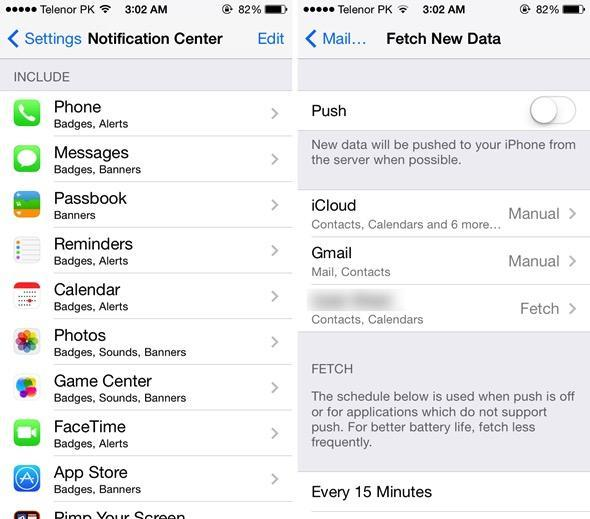 iOS, 11, battery, life, issues, fix, iPhone, drain, draining, quick, tips, tricks, how, to, turn, off, push, notifications